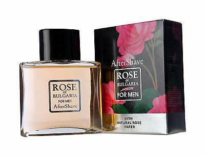 BioFresh ROSE OF BULGARIA After-Shave Lotion for Men Gentle Protection 100ml