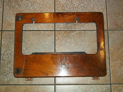 Antique Singer Treadle Sewing Machine Cabinet Wood Support Pieces - AS IS