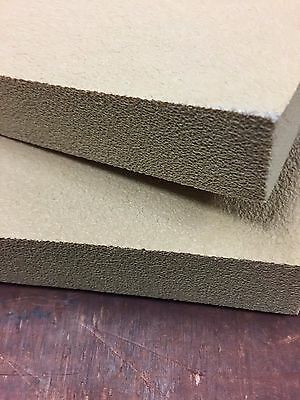 Kydex Pressing foam - 12 x 12 x 1.25 inch - Tan - 2 Pieces (one set) MOLD PRO