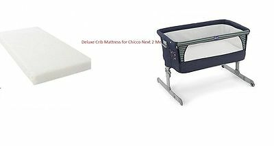 Extra Thick Crib Mattress For Chicco Next 2 Me Co-Sleeper Bedside Crib Next2Me