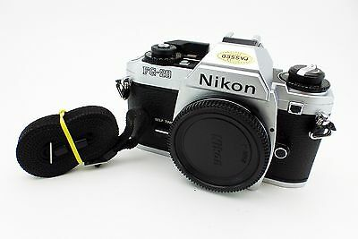 Nikon FG-20 35mm Film Camera F-Mount Body only Made in Japan Vintage Used