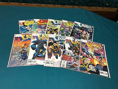 Marvel Comics Cable Lot Of 10 #13-22 Complete High Grade
