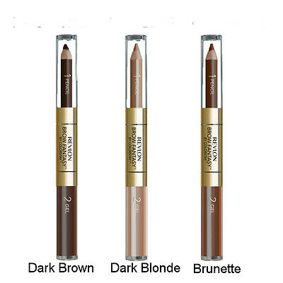 Revlon ColorStay BROW FANTASY Pencil & Gel New Please Choose Your Shade *Sealed*