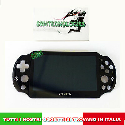 Display Lcd E Touch Completo Sony Play Station Ps Vita 2000 Completo Di Frame