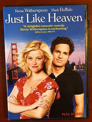 Just Like Heaven (DVD, 2005, Full Frame) - E0331