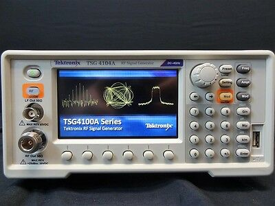 Tektronix TSG4104A E1 4GHz Analog Signal Generator with Calibration and Warranty