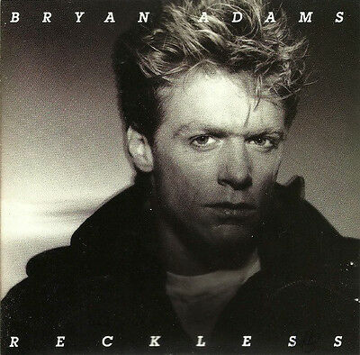 Bryan Adams : Reckless  (CD, A&M Records ‎– CD 5013)-FREE SHIPPING-
