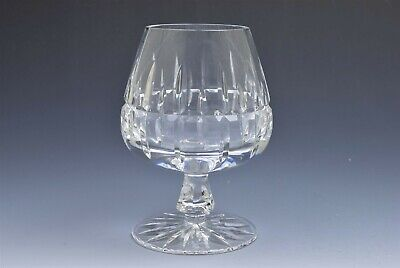 Ceska Crystal Prauge Flared Stem Brandy Glass Snifter 5""