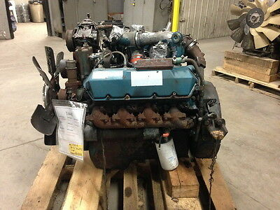 International T444E-190Hp Electronic Diesel Engine (Tested Running, Complete)
