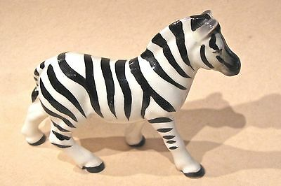 Vintage Ceramic Zebra Figurine Japan
