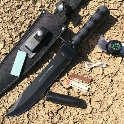 """Defender-Xtreme 14"""" Heavy Duty Steel Survival Knife Hunting New"""