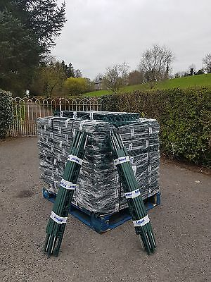 Electric Fence Poly Plastic Posts RUTLAND GREEN 3FT 10-60 DEALS Top Quality