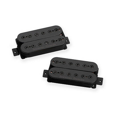 Seymour Duncan Mark Holcomb Alpha Omega Guitar Pickup Humbucker Set Black