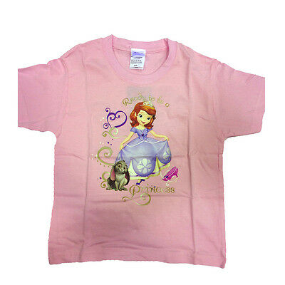 PRINCIPESSA SOFIA t-shirt pink printed various sizes from girl
