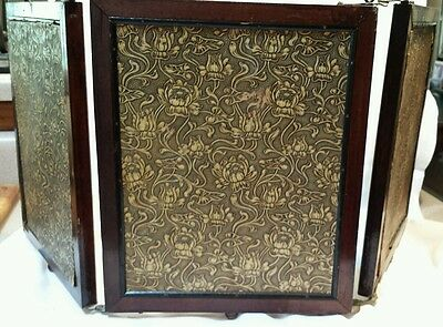 ANTIQUE AESTHETIC MIRROR EASTLAKE VICTORIAN ~ Art Crafts Ornate Tri-Fold