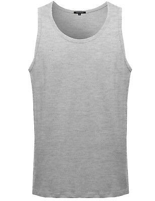 FashionOutfit Men's Casual Basic Solid COTTON Sleeveless Tank Top (ONLY $4.99!)