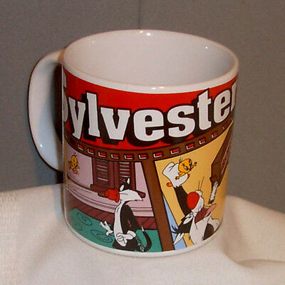 Looney Tunes SYLVESTER Ceramic Porcelain Mug by Applause