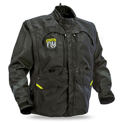 Fly Racing Adult Patrol Offroad Adventure Motorcycle Riding Jacket Multi-Config