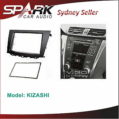 CP Double 2 DIN Facia Kit Fascia Dash Panel Plate For Mazda 2 Demio DE 2007-2014