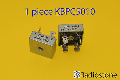 Diode Bridge Rectifier 1ph 50A 1000V 50 Amp Metal Case - 1000 volt 50A Diode