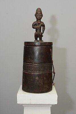 Baule wooden container, Ivory Coast, Africa