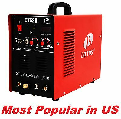 LOTOS 3 in 1 LOTOS-CT520 50a  Plasma Cutter 200a Tig, Stick Welder
