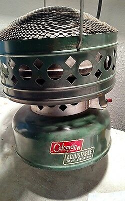 Coleman 3000-5000 BTU Catalytic Heater - 1969 - Model 513 - Works Great camping