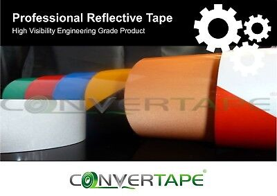 High Quality Reflective Tape Vinyl Roll Self-Adhesiv Waterproof Various Size