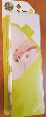 Safety 1st Grip N' Twist Door Knob Lock Covers 4-Count NEW 4 pk Safe Toddler