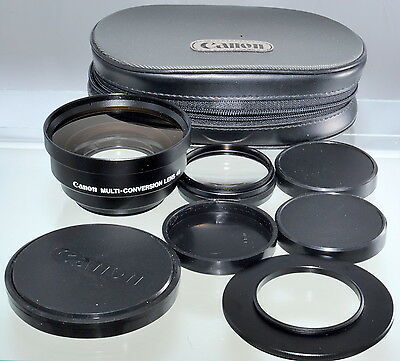 Canon Multi-Conversion Lens 46 Adapter Kit with Case