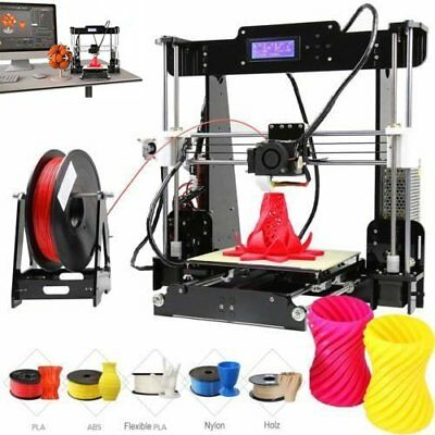 Anet A8 3D Printer DIY i3 Upgradest High Precision Reprap Prusa 3d Drucker DHL
