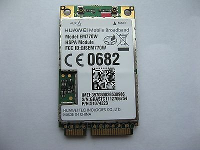 HUAWEI EM770W 2G 3G WWAN 7.2Mbps HSDPA for WINDOWS Android