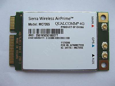 Sierra Wireless AirPrime MC7355 3G 4G LTE/HSPA+ GPS 100Mbps module Unlocked
