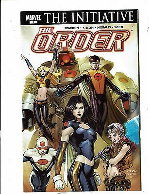 Lot of 2 The Order Marvel Comic Books #1 6 BH51
