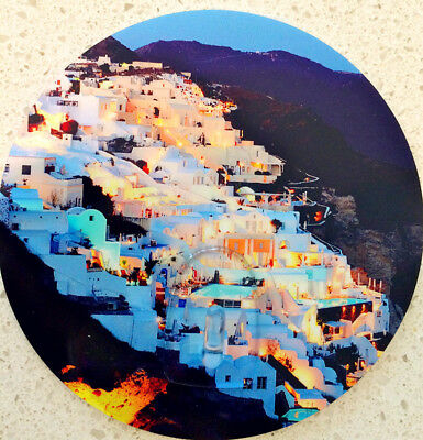 Santorini Volcanic Beauty Circle Small Hook Kitchen Office Bathroom
