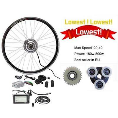 LCD Display + 36V350W Electric Bicycle E Bike Hub Motor Conversion kit