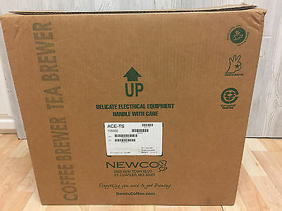NEW Newco ACE-TS Telescoping Airport Coffee Brewer Adjustable Height Commercial