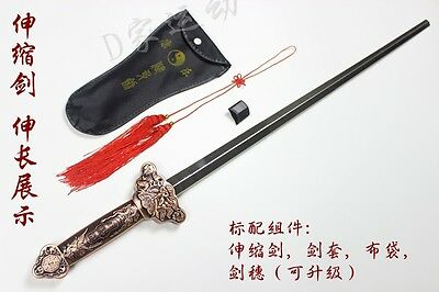 Tai chi sword Telescopic Retractable