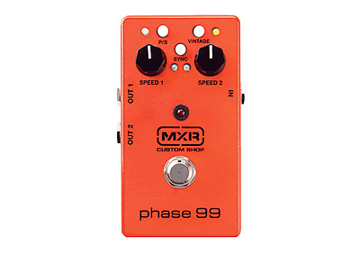 MXR CSP099 Custom Shop Phase 99 Phaser Electric Guitar Effects Pedal