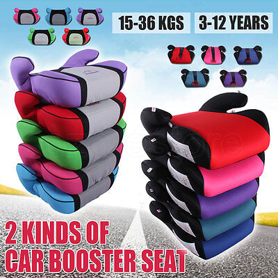 Sturdy Car Booster Seat Safe Baby Child Kid Children Fit 3 To 12 Years Safety AU