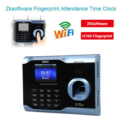 Zksoftware U160 Biometric Fingerprint Attendance Time Clock Recorder WIFI fast