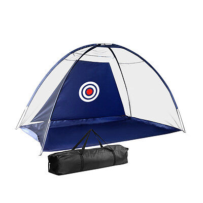 New Portable Golf/Soccer/Cricket Training Target Driving Net Navy
