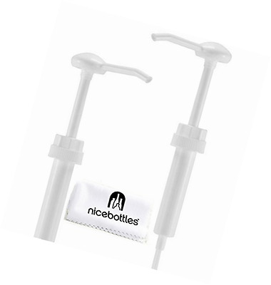 NiceBottles - Dispenser Pump for Gallon Jug, Pack of 2