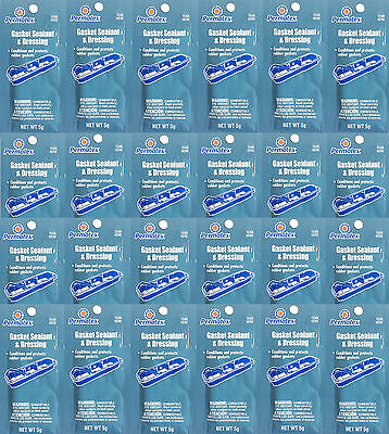 24X PERMATEX 09974 Gasket Sealant and Dressing Protects Rubber Gaskets