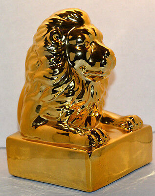 Gold Colored Lion