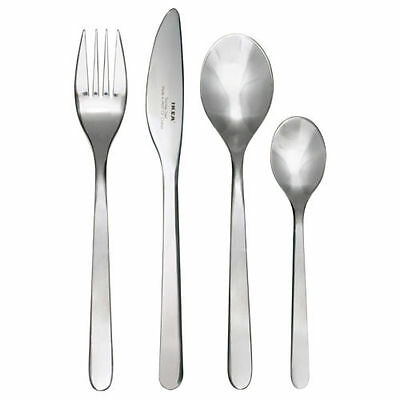 IKEA FORNUFT 24 Piece Stainless Steel Cutlery Set,Dishwasher Safe,High Quality
