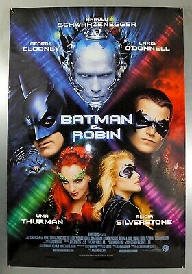 Batman & Robin - George Clooney - Original American One Sheet Movie Poster