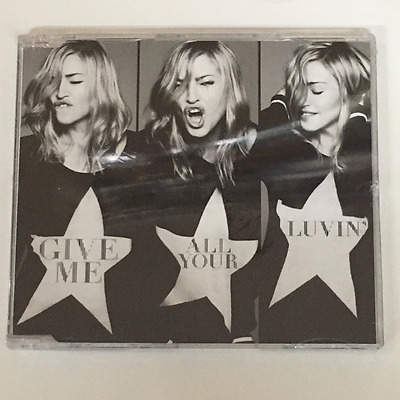 Madonna Give Me All Your Luvin' New Sealed CD 1 Track Single PROMO CD