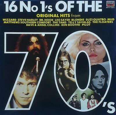 16 No 1s OF THE 70s - VARIOUS - Vinyl LP