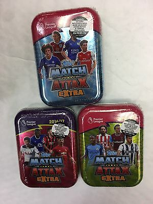 MATCH ATTAX EXTRA Pemier League 2017 Collector Mini Tin 45 CARDS LIMITED EDITION